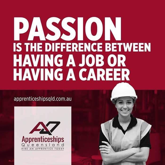 passion is the difference between having a job and a career